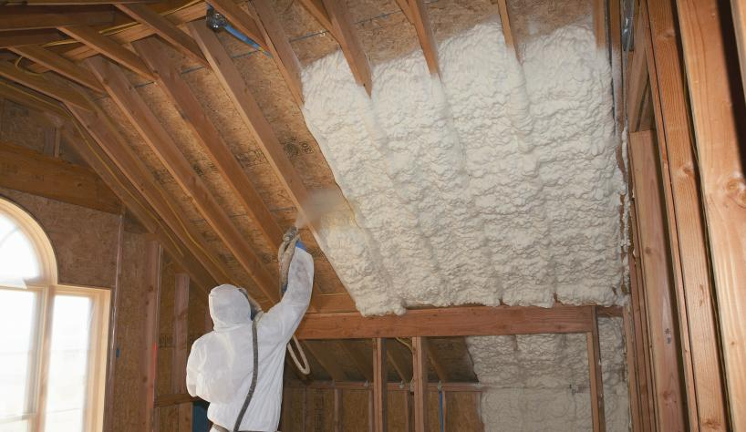 Spray Foam Insulation in Roseville